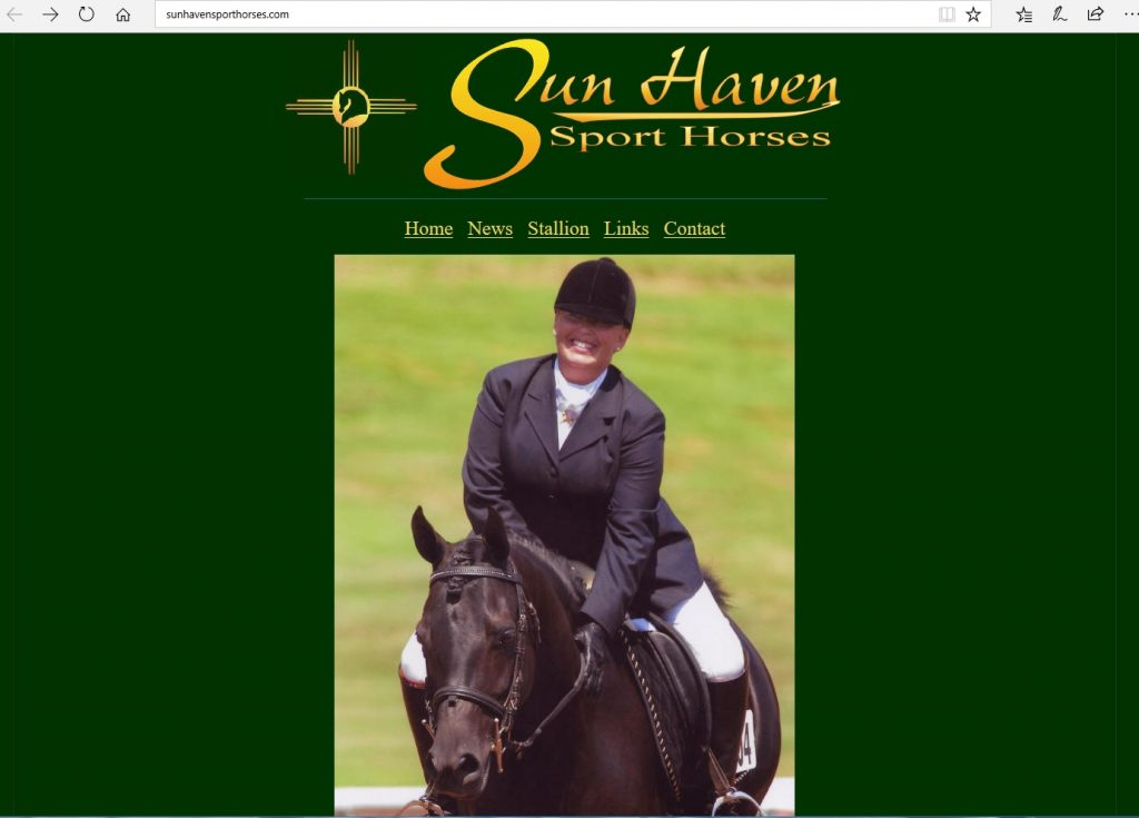 Sun Haven Sport Horses. Breeding Arabian sport horses. Home of the high percentage Crabbet & CMK stallion, Aulways Magic.